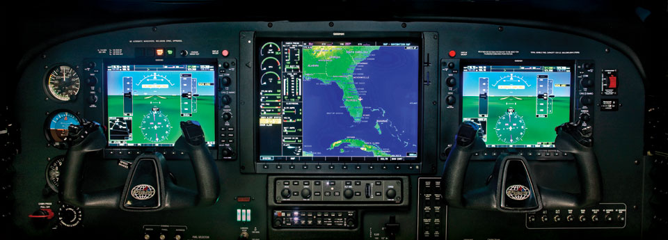 Advanced Garmin G1000 Glass Cockpit