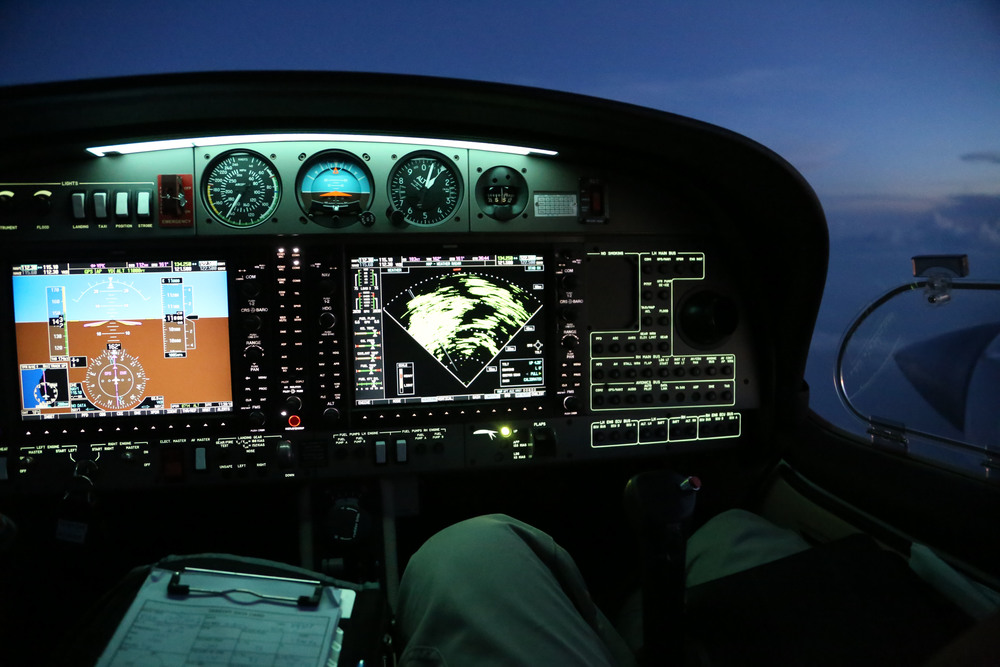 WOA technical crew have experience operating glass cockpits day and night in the field all over the world.