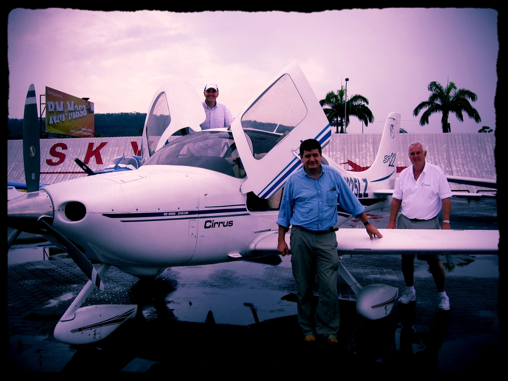 Asia's very 1st Cirrus SR22 based in Singapore starting Yr2003.