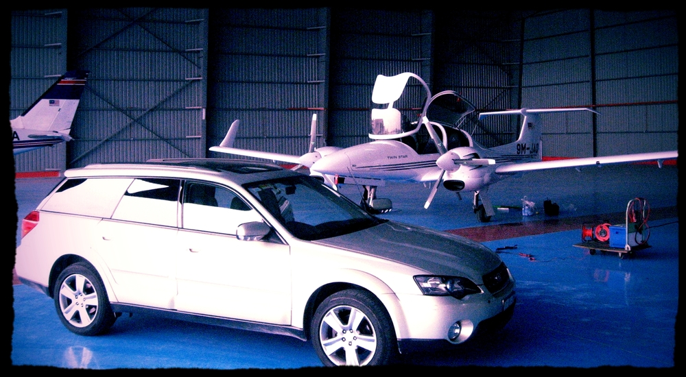 Malaysia's very first DA42TDI delivered by WOA pilot in Yr2006
