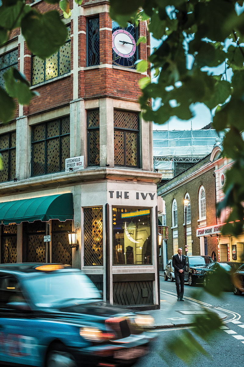 The Ivy is the place to go in London for time-honoured foodie traditions.  (photo: David Griffen)