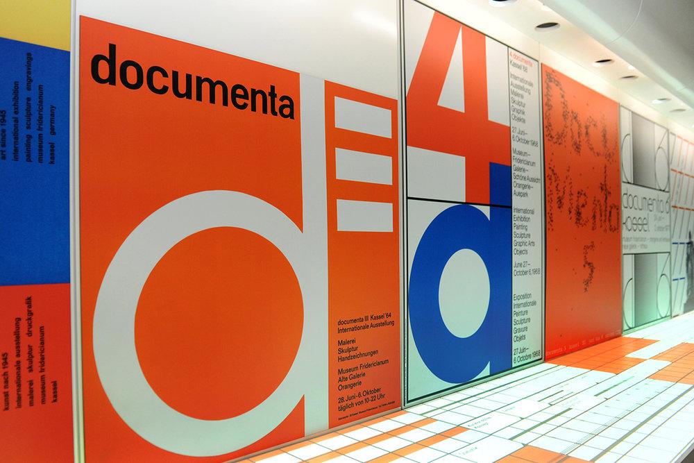 Installation im documenta Archiv; © Stadt Kassel; Foto: Harry Soremski