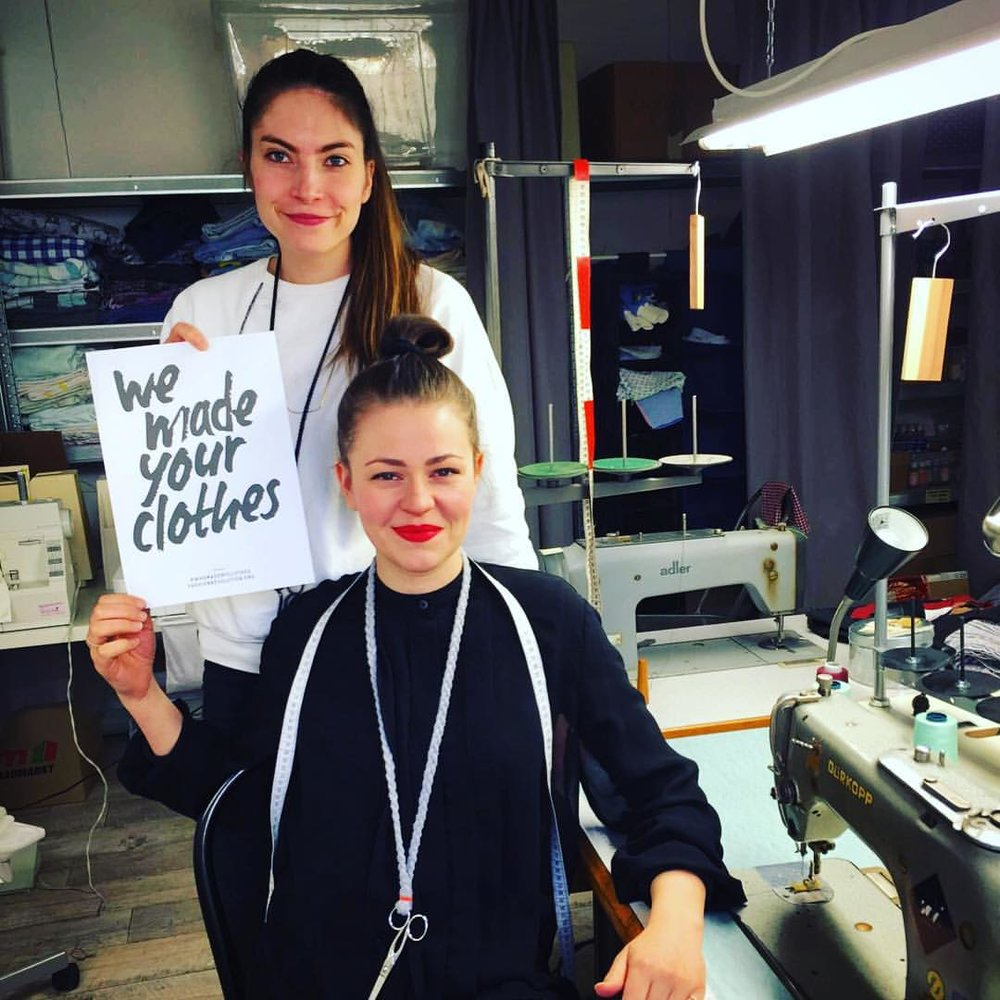 Kira Kimm and Sophie Roscher, upcycling fashion entrepreneurs at SOKI