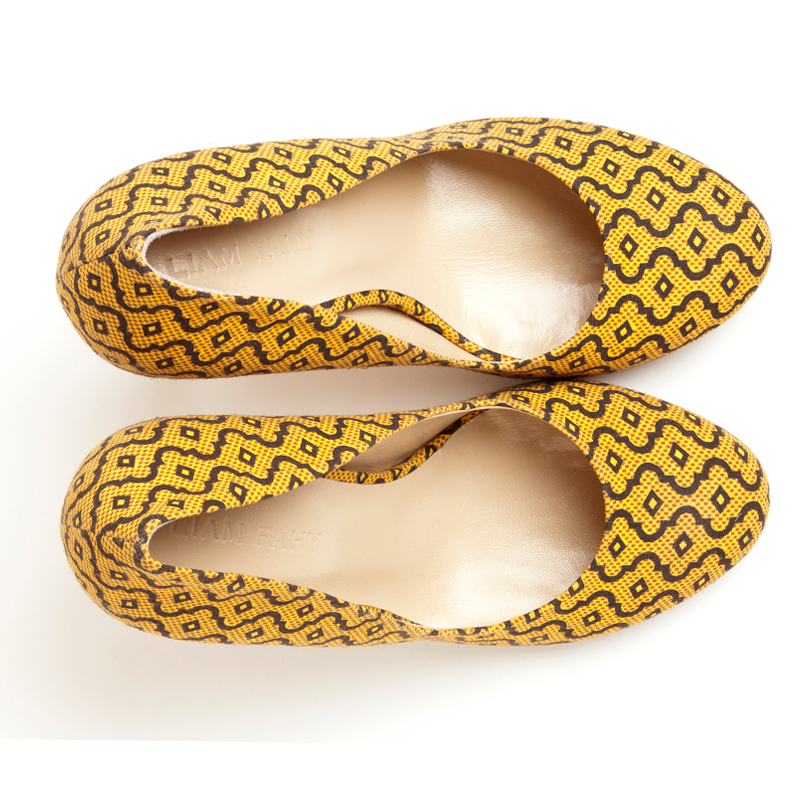 Liam Fahy: Elle java print heels | Shoes,Shoes > Heels -  Hiphunters Shop