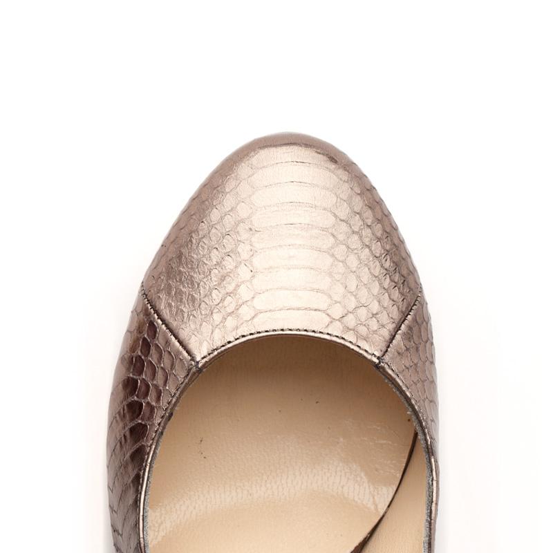 Liam Fahy: Elle metallic watersnake heels | Shoes,Shoes > Heels -  Hiphunters Shop