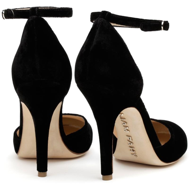 Liam Fahy: Lula black velvet heels | Shoes,Shoes > Heels -  Hiphunters Shop
