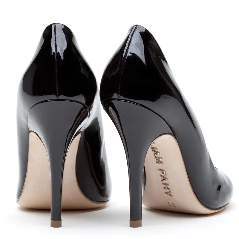 Liam Fahy: Elle black patent heels | Shoes,Shoes > Heels -  Hiphunters Shop