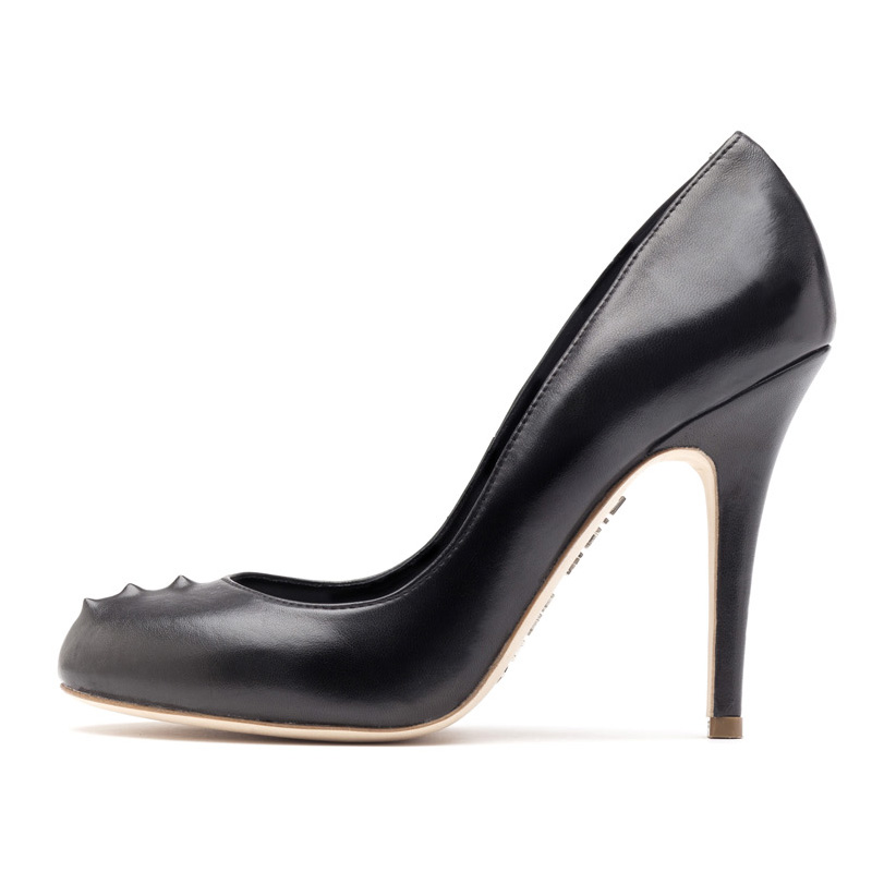 Liam Fahy: Sadie black nappa heels | Shoes,Shoes > Heels -  Hiphunters Shop