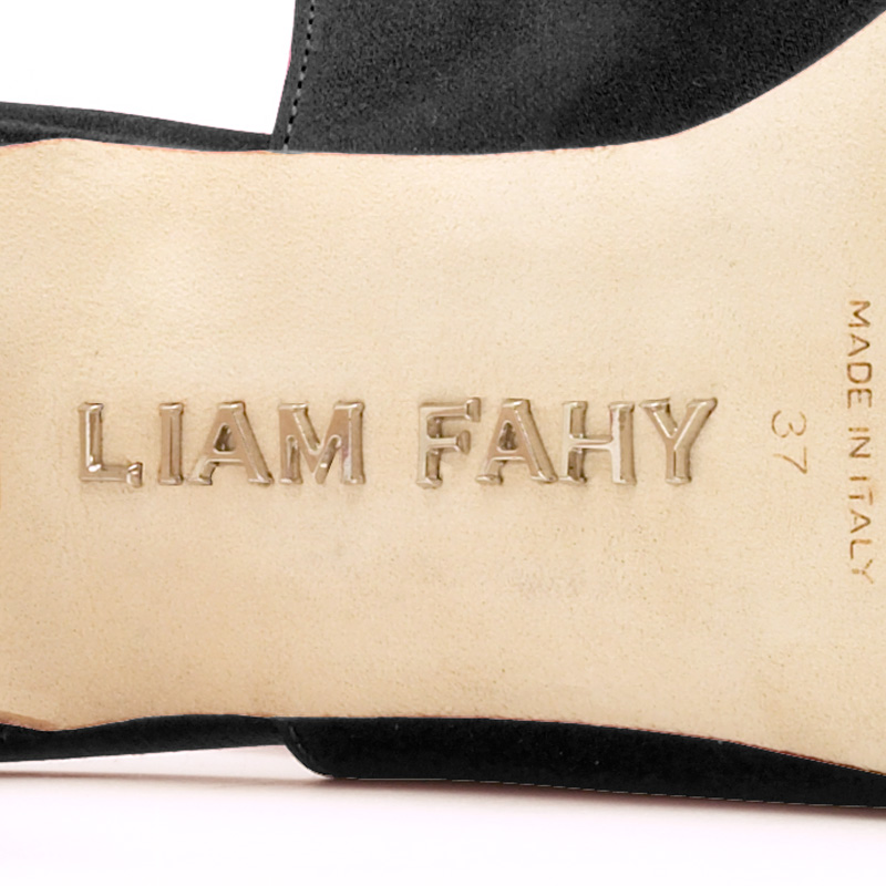 Liam Fahy: Adora black nappa & mesh | Shoes -  Hiphunters Shop