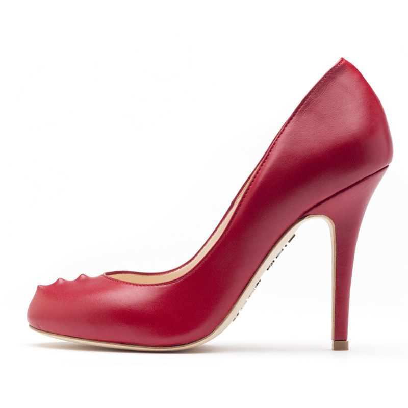 Liam Fahy: Sadie red nappa heels | Shoes,Shoes > Heels -  Hiphunters Shop