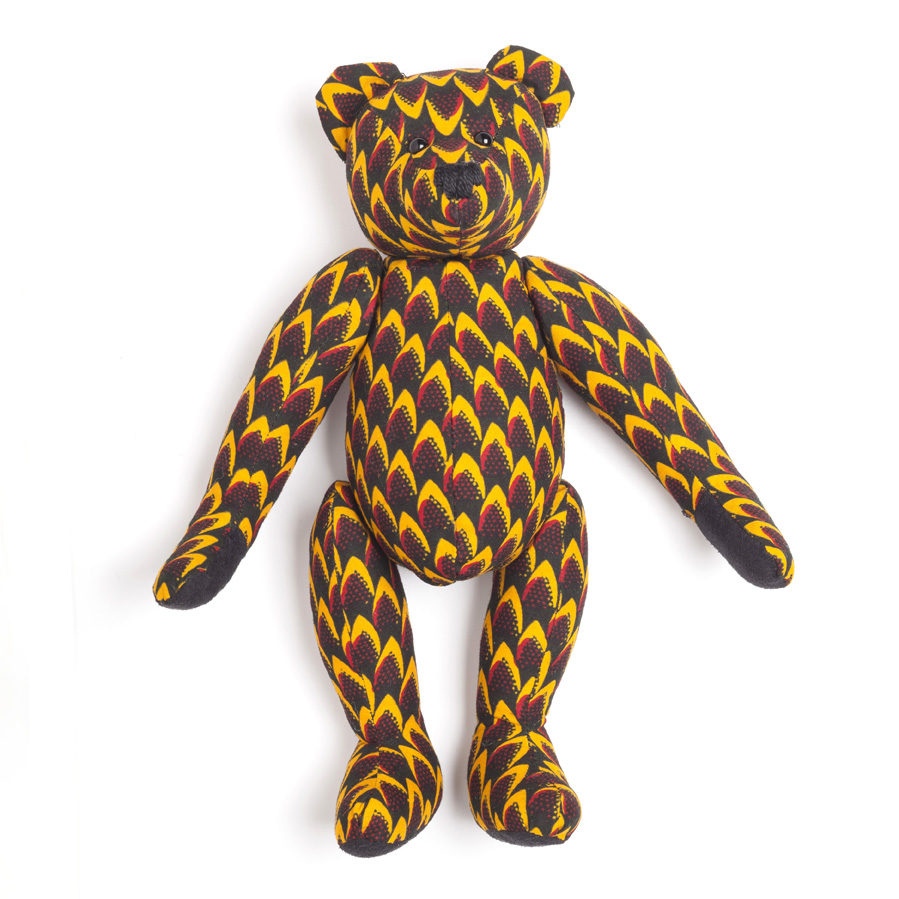 Liam Fahy: African java print teddy | Accessories -  Hiphunters Shop