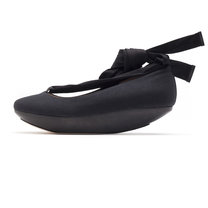 Liam Fahy: Lyla black canvas  | Shoes,Shoes > Flats -  Hiphunters Shop