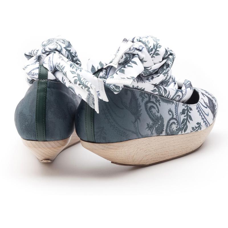 Liam Fahy: Lyla paisley print canvas | Shoes,Shoes > Flats -  Hiphunters Shop