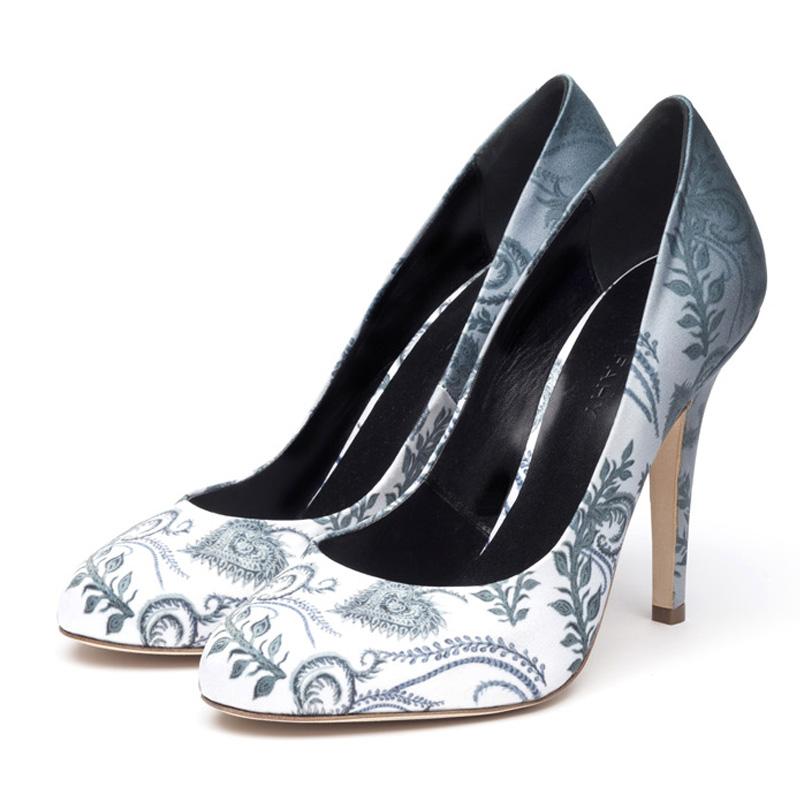Liam Fahy: Elle paisley print heels | Shoes,Shoes > Heels -  Hiphunters Shop
