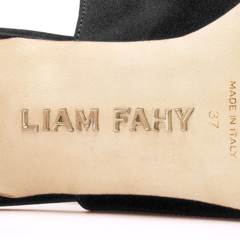Liam Fahy: Dori black velvet heels | Shoes,Shoes > Heels -  Hiphunters Shop