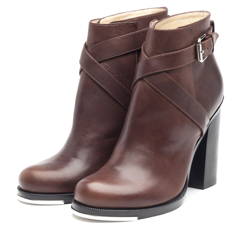Jolie brown ankle boots