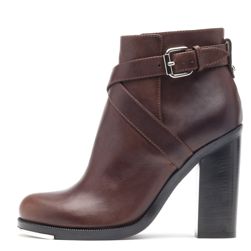 Liam Fahy: Jolie brown ankle boots | Shoes,Shoes > Ankle boots -  Hiphunters Shop