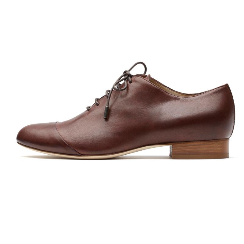 Liam Fahy: Caroline cigar brown lace ups | Shoes,Shoes > Lace ups -  Hiphunters Shop
