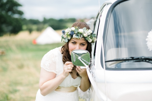 Home Farm Glamping wedding