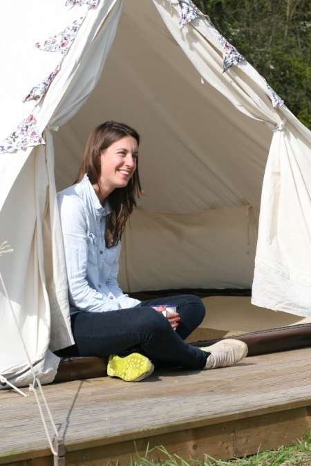 Best Glamping London - Jess