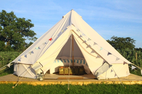London Glamping bell tent