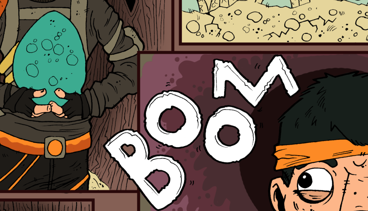 It's always fun laying down initial colours, but it's even more fun adding the details!  My first story, coming soon to  www.monstertrunkcollectables.com  !