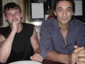 With sifu emin boztepe at dinner in new york in 2001