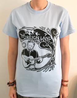 Foreign Land Sky Blue Tour T shirt.jpg