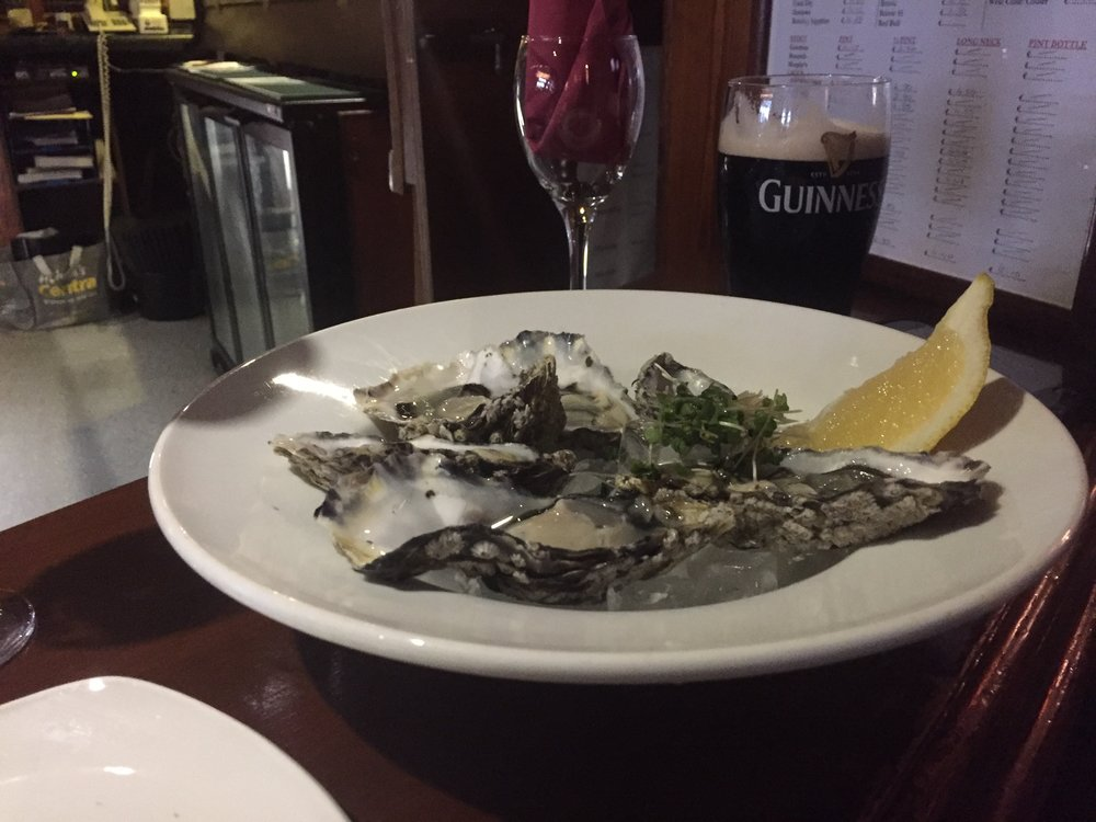 Oysters & Guinness