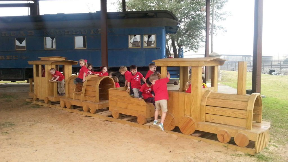 Kids love the play train and take the opportunity to climb all over it when visiting the museum. WaWa's Train is a big hit.  Rest of the story...
