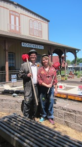"""The Rosenberg Main Street Program has partnered up with the Railroad Museum to take RailFest beyond the museum Gates….. - The Rosenberg Main Street Program is hosting a Hobo Walk: A Discovery Walk through Downtown Historic Rosenberg as part of this years RailFest. There are 18 """"hobo stops"""" on the walk at various business throughout downtown including a mock Hobo Camp at the Art Park on 3rd Street where there will be hobo characters along with information on the hobo code which is much like current day emojis! Visitors can collect stickers from at least 10 of the hobo stops and return the completed ticket to the admissions tent to be entered in a drawing for a basket of goodies from downtown merchants.Hobos were migrant workers, most notably during the time of the Great Depression and are an important part of railroad history. These men and teen boys traveled across the country in search of jobs. Fueled by the need to reach the west coast, but lacking funds, the hobo often hopped a free ride on trains. According to Rosenberg Main Street Program Advisory Board Chairman, Kellen Dorman, """"We are pleased to partner with the Museum by hosting the Hobo Walk so that visitors can learn more about railroad history and what Historic Downtown Rosenberg has to offer.""""Visitors can pick up a Hobo Walk Ticket at the Admissions Tent outside the museum. Admission to RailFest is not required to participate in the Hobo Walk. Limit one ticket per family.Special thanks to the downtown Businesses participating in the Hobo Walk:Another Time Soda Fountain & CaféThe Barn DoorBob's Taco StationCalla Lilies AntiquesCopious DeliD & S AntiquesDostal's Designs in Fine JewelryDuran's Roofing & RemodelingFt Bend Art Center/Fine Arts by SuzanneGabby's Western WearOld Main Street BakeryOnce Again AntiquesRed Queens AtticRoots & RelicsRosenberg Railroad MuseumRuche ChartreuseSadie Belle'sSouthern SisterWhat's the DealVogelsang's Antique Emporium"""