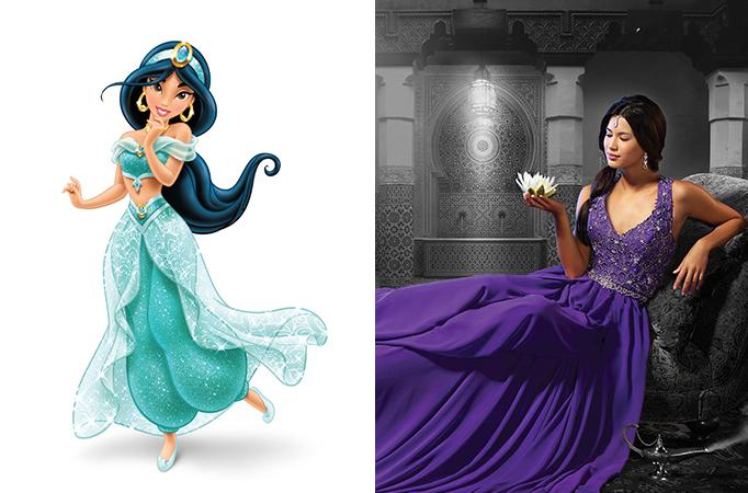 Favoloso E se le principesse Disney fossero delle spose in carne ed ossa  UN66