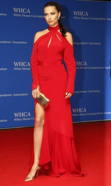 Adriana Lima White House Correspondents Dinner, Washington DC April 2016