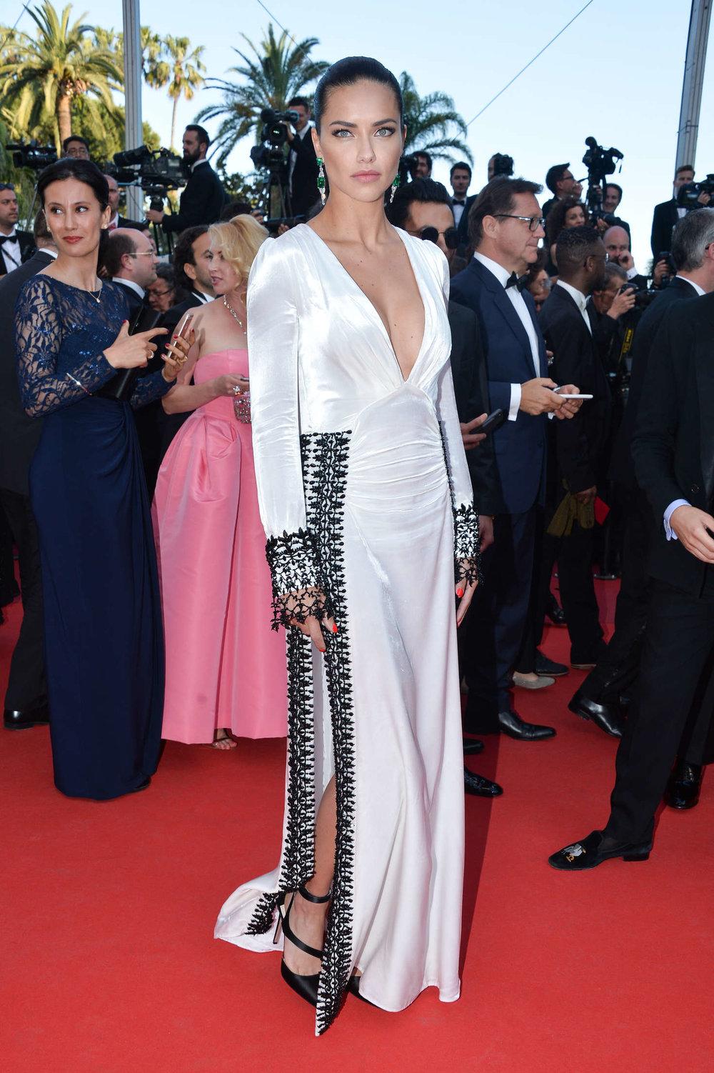 Adriana Lima film premier, Cannes 2016