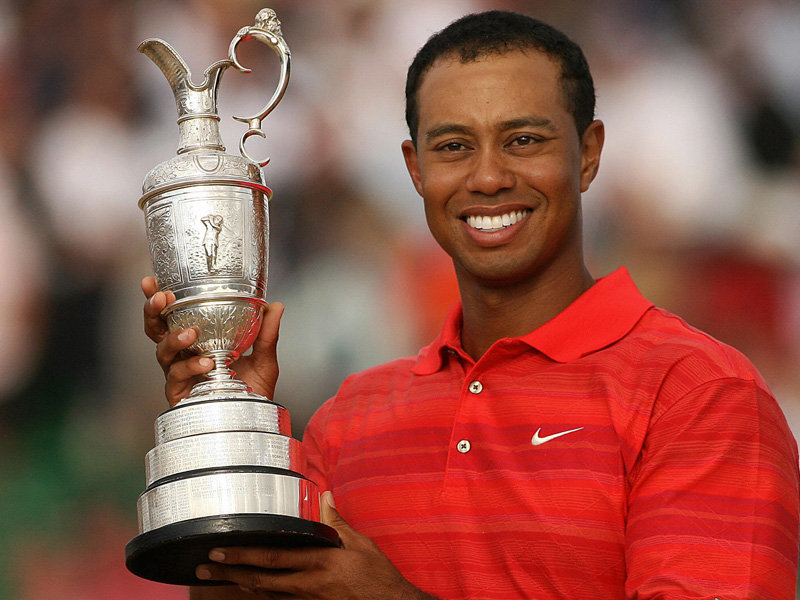 quiropráctico ajuste Tiger Woods golf