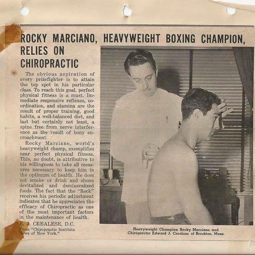 box deporte salud quiropráctico chiropractic sport