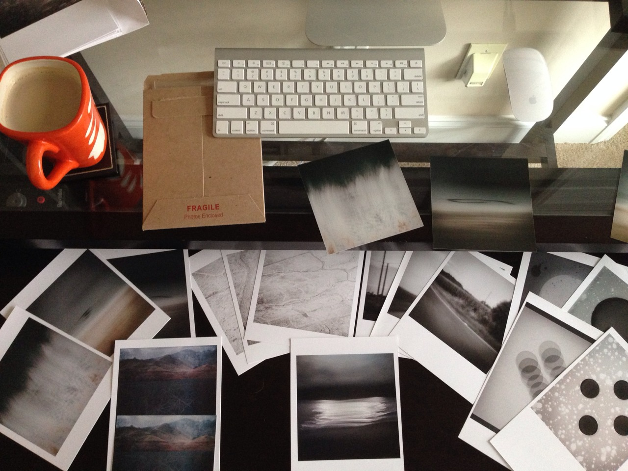 One last round of print proofing before my show at Ross Gallery - Charlotte, NC. Opens in May