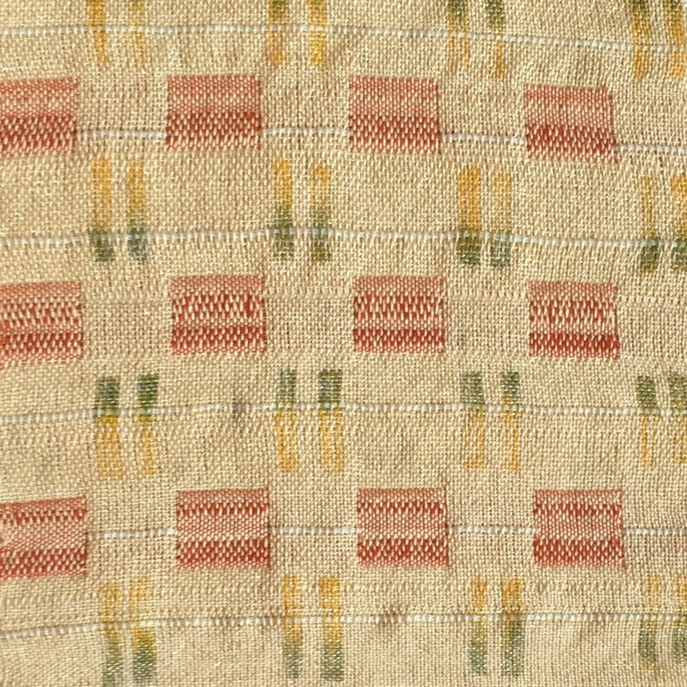 #1  8-Harness Woven, 2015.  Linen, cotton.