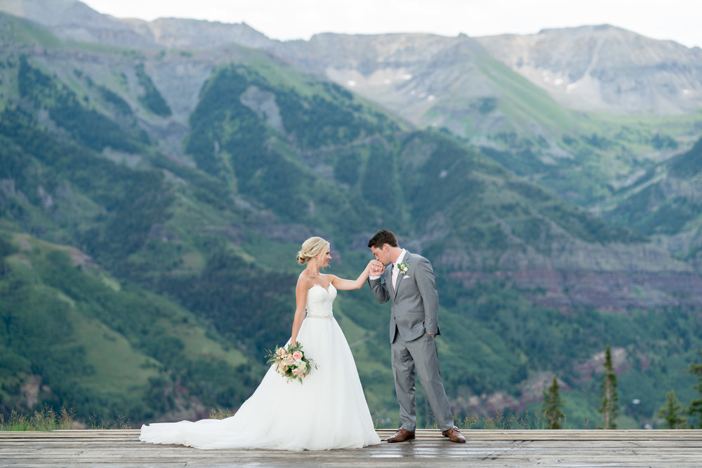 David Manning Photographer Telluride Resort wedding