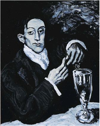 "Picasso's ""Absinthe Drinker"" was pulled from a Christie's auction after its pedigree was called into question"