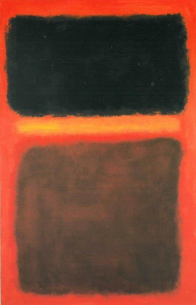 Fake Mark Rothko painting involved in the fraud Photo cred: NYDailyNews