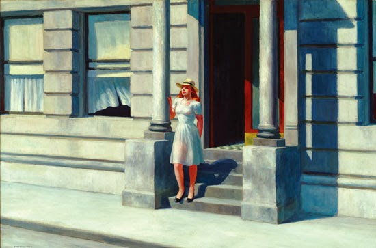 Summertime, 1943 Edward Hopper (1882–1967) Oil on canvas 29 1/8 x 44 inches Delaware Art Museum. Gift of Dora Sexton Brown, 1962