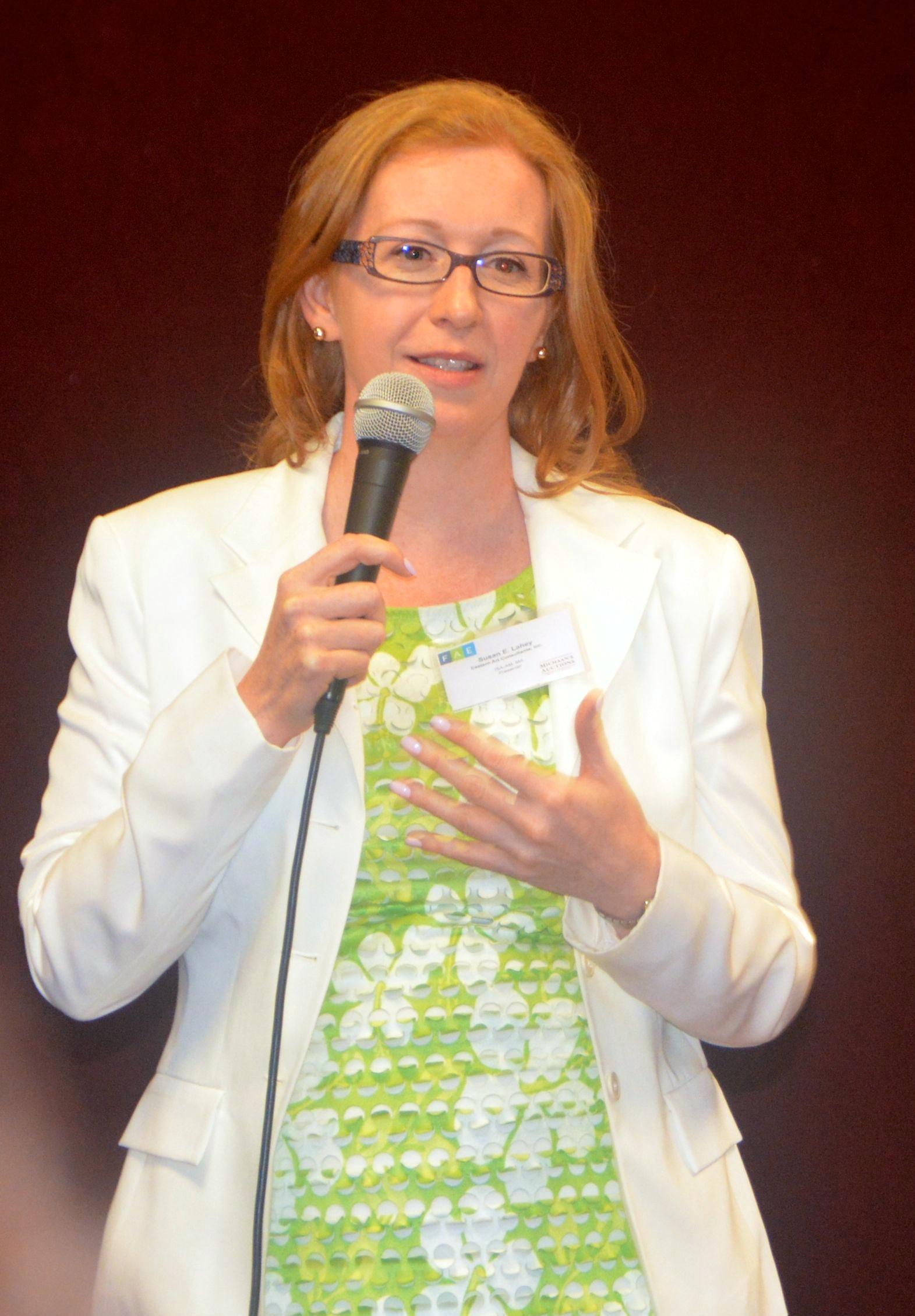 Susan Lahey, President, Eastern Art Consultants Inc.