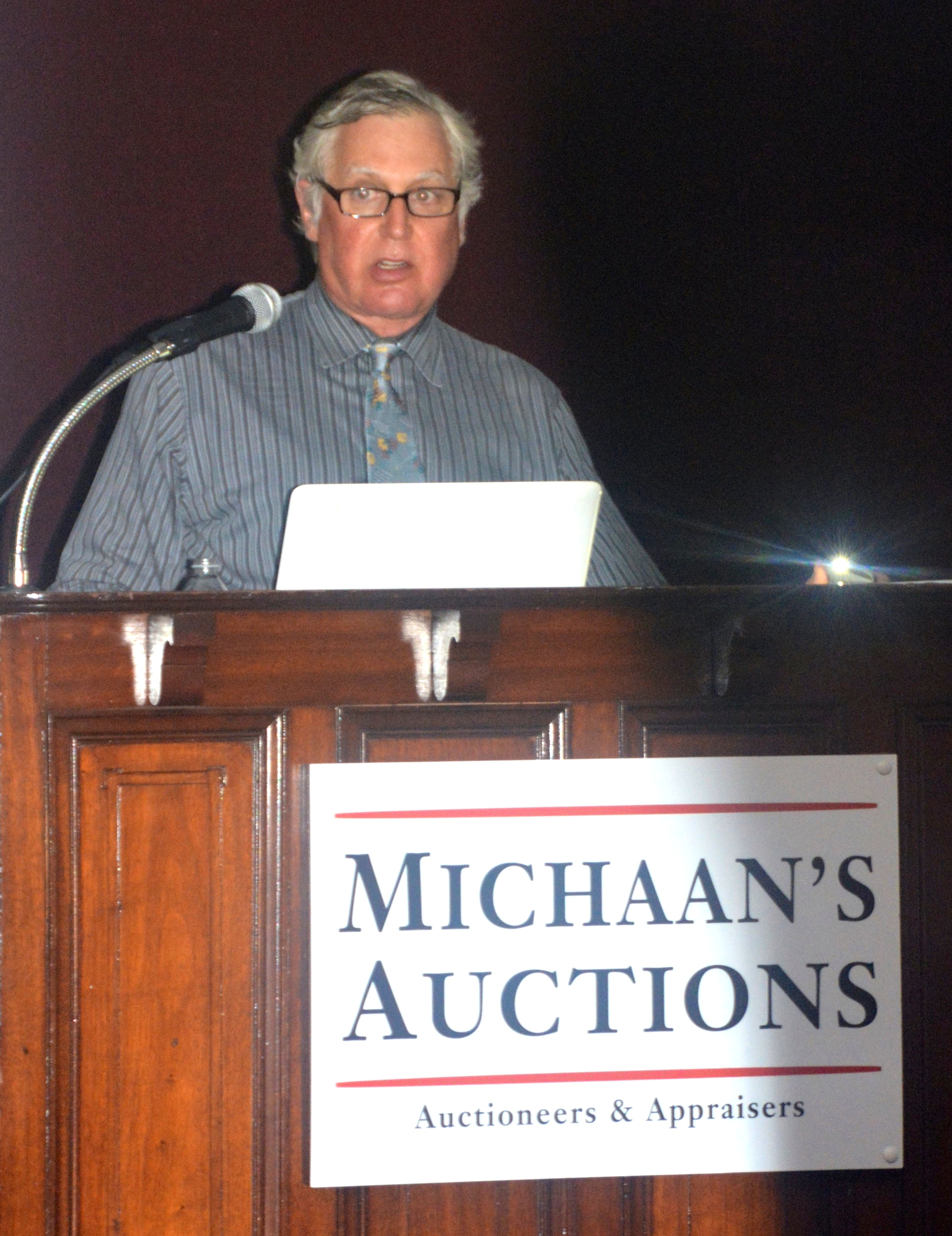 Allen Michaan of Michaan's auctions