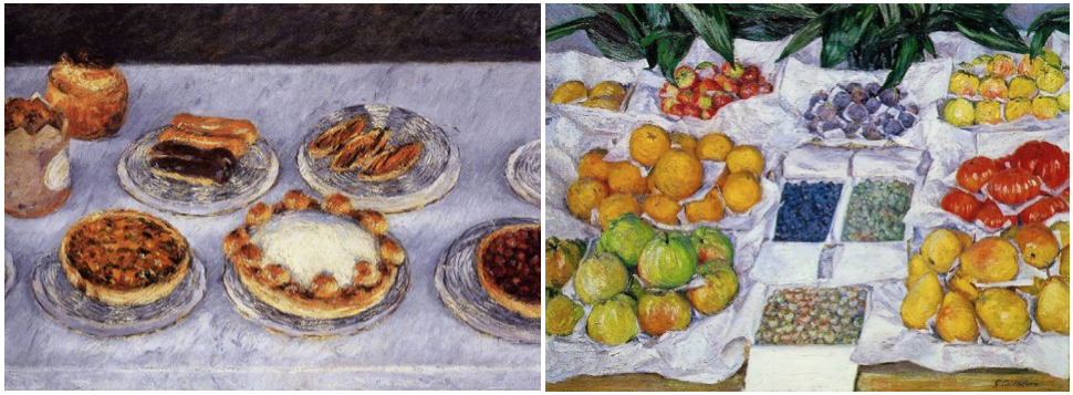 """Gateaux""/ ""Fruit Displayed on a Stand""  Museum of Fine Arts, Boston, Massachusetts"