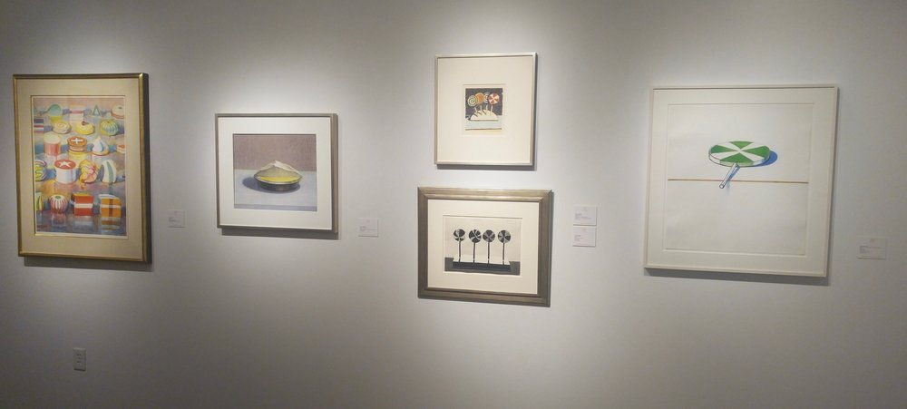 Wayne Thiebaud wall!