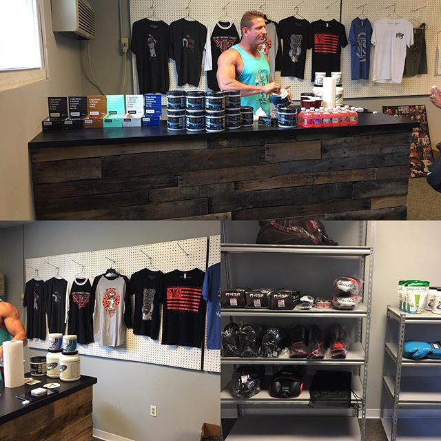We're getting started up here. Make sure to swing by for deals on gear, supplements and apparel. #mma #visionmma