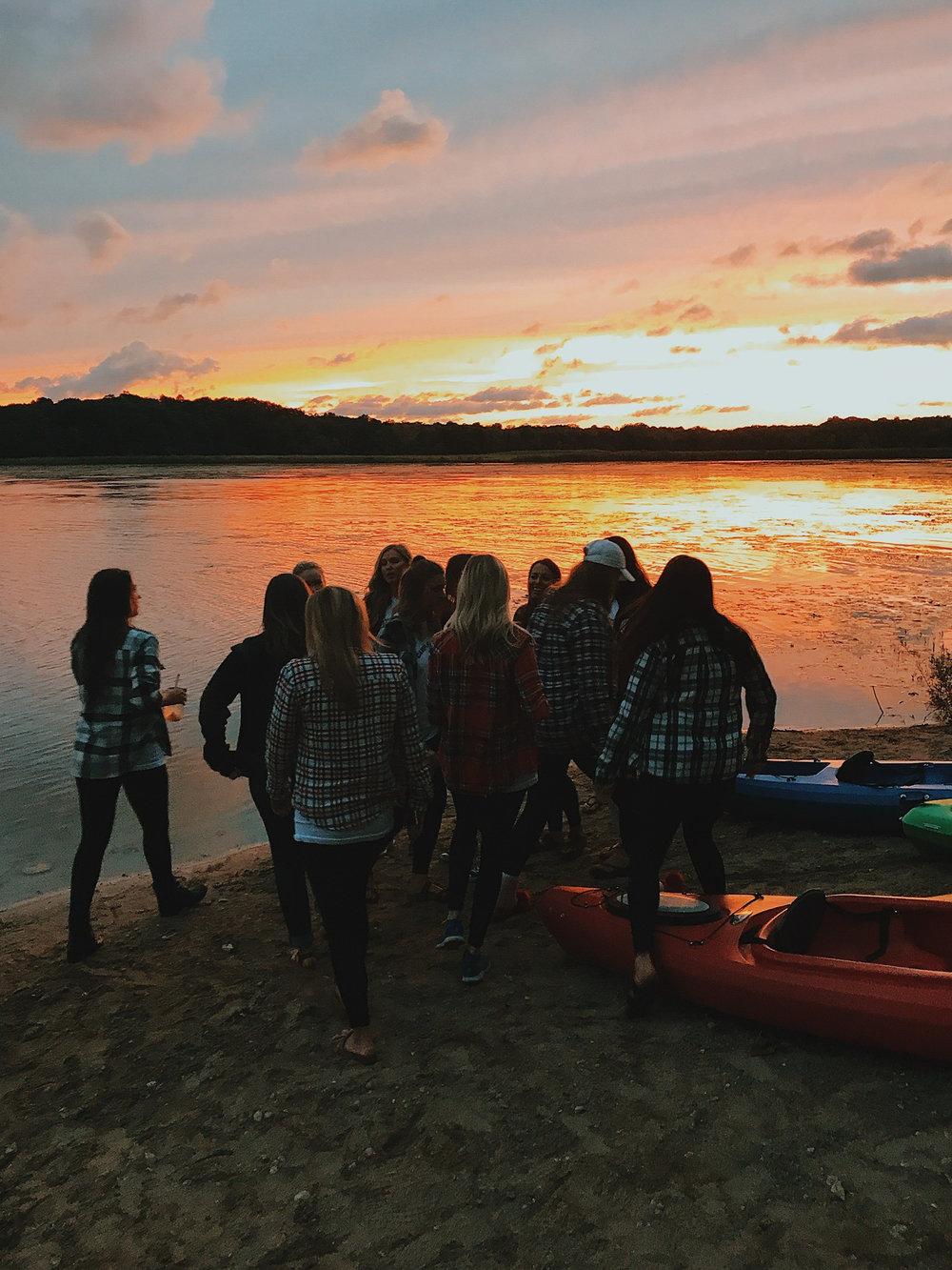 sunset_glamping_bachelorette_canoes_flannel.jpg