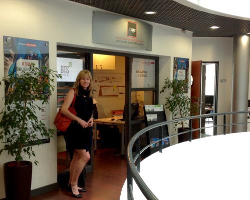 IDRAC School of Business in Lyon, France. (photo - worklondonstyle)