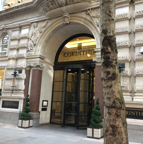 Working London Style at the Corinthia Hotel in London (photo - worklondonstyle)
